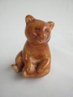Bodrogkeresztúri kerámia medvebocs