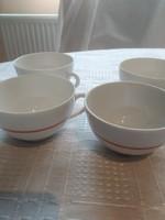 Zolnay pajzspecsétes kávés csésze 4 darab