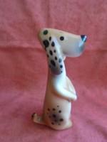 Gránit porcelán kutya figura