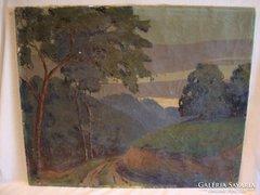 Erdei út (nekem) ism. szignó ' 939 o-v festmény