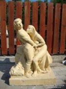 Róna József antik jelzett monumentális szobor