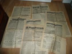 RITKASÁG!!! 1956-os forradalmi újság kiadványok jó állapotban egyben eladók