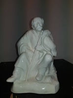 Aquincum, fehér mázas porcelán juhász