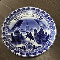 Orosz porcelán tányér