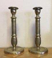 Klasszicista gyertyatartó pár,1800-s évek eleje