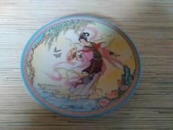 Bradex porcelán dísz tányér Keleti képpel