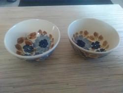 Régi porcelán kompótos kis kínálók