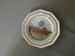 Porcelán dísztányér