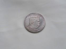 Umberto I. Olasz király 1891 utánveret 5 líra