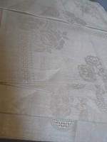 6 db Antik selyem damaszt terítő