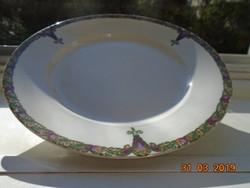 1884 Szecessziós MZ AUSTRIA tányér,számozott