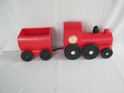 Retro trafikáru műanyag játék vonat