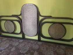 Thonet stílusú ágy, franciaágy