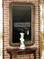 Aranyozott restaurált Biedermeier tükör 04.