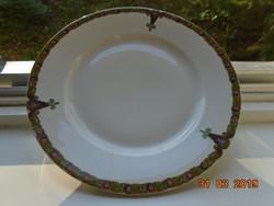 1884 Szecessziós MZ AUSTRIA tányér,számozott 24 cm