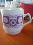Zsolnay porcelán (ritka mintázattal)