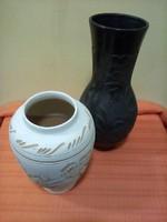 2 darab Korondi jelzett váza