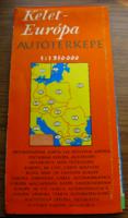 Kelet-Európa autótérképe (1:1950000) - 15. javított kiadás