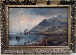 Wiliamm James Müller - Angliai kikötő 1832
