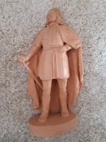 Rákóczi agyag szobor Bodonyiné