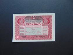 2 korona 1917 Szép bankjegy !!!  02