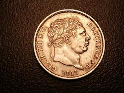 III.György ezüst shilling 1819.ilyen állapotban ritka!