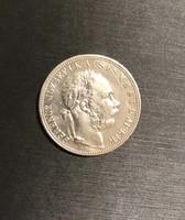 Ferenc József 1892 KB ezüst 1 Forint