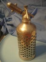 N 6 gyűjteménybe Ritka erős rozsdamenetes anyagú design szódásszifon  36 cm-es