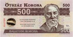 Balatoni Korona 500 - UNC
