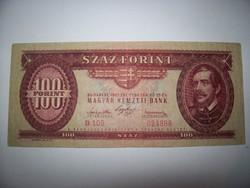 1947-as évjáratú 100 forintos kezdő gyűjtőknek ajánlom kép szerint.