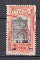 1957 Bolívia használtan (00015)