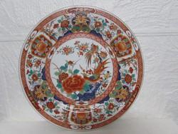 Kinai dekoros porcelan tanyér