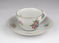 0T870 Régi Herendi porcelán kávéscsésze 1948