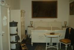 Antik klasszicista copf komplett hálószoba - csillár szekrény ágy fésülködő fogas