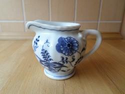 Blue Danube hagymamintás porcelán kis kiöntő 2,5 dl