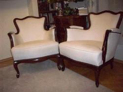 Neobarokk fotelpár
