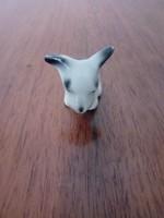 Hollóházi porcelán mini kutya