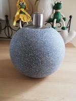 Elegáns gömb alakú olajlámpa
