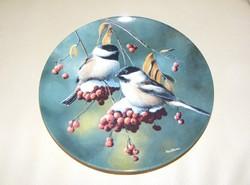 Madaras Bradex jelzett tányér