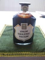 Tokaji  Vinum Tokajense  Passum   1968 ból  , 51 éves  !!!