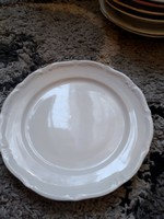 Lengyel szép fehér tányér 24 cm