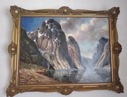 Henriette Kerner festőművész alkotása