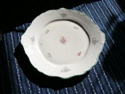 A01 Hollóházi retro süteményes asztalközép