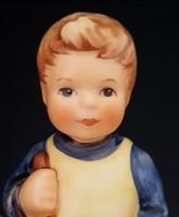 Hummel kertész kisfiú, 9 cm