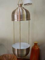Virágtartós retro mennyezeti fém lámpa