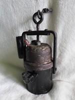 Muzeális öntöttvas régiség ( gázlámpa ? )