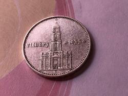 """1934 ezüst""""feliratos"""" 2 márka,Ritka"""