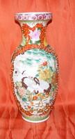 Nagyméretű kínai porcelán váza