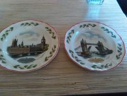 Angol Wedgwoodi porcelán dísz tányérok