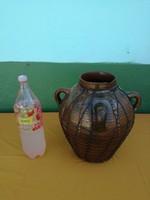 Antik kerámia főző köcsög 1800-as évekből.